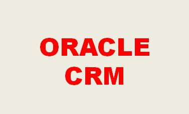 Oracle CRM Training