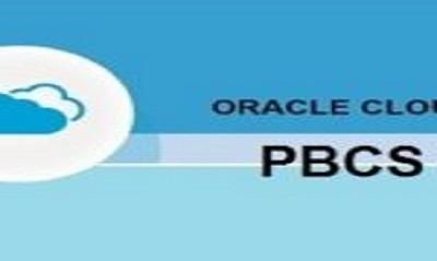 Oracle PBCS Online Training